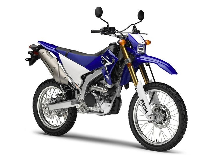Yamaha Dual Sport 650 Descended from YZ and WR, the
