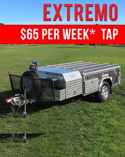 Extremo  Hard Floor Camper Trailer
