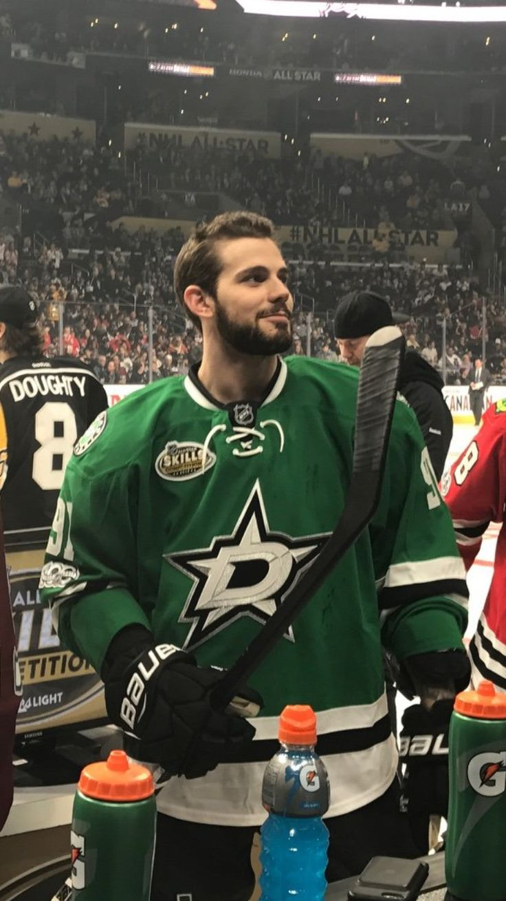 Tyler Seguin at the all-star game 2017