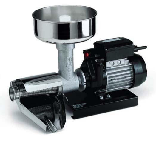 Spremipomodoro elettrico Reber 9008N Spremipomodoro ad uso domestico, funzionante elettricamente. Produce 70-140 Kg/ora.  182,00 €