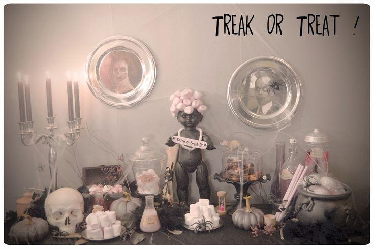 2013 Le Candy Bar d'Halloween: Ambiance établi abandonné...