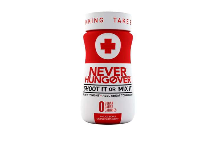 Never Hungover Mixer - The perfect mixer to avoid hangovers!
