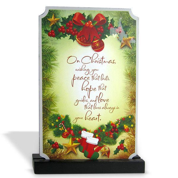 Best Christmas Quotes Rs. 204 Gift your loved this beautiful Quotation on Peace, Love and Hope and make your Christmas wishes treasure and last forever. Shop Now : http://hallmarkcards.co.in/collections/christmas-gifts/products/christmas-quotes