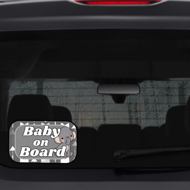 Baby on board suction cup car accessories