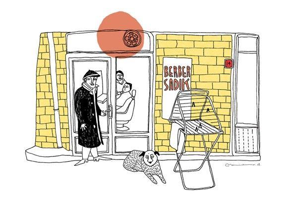 Berber Dükkanı by Beril Ateş- Istanbul