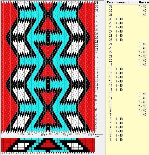 40 tarjetas hexagonales, 4 colores, secuencia 6F-6B // sed_1024_c6 diseñado en GTT༺❁