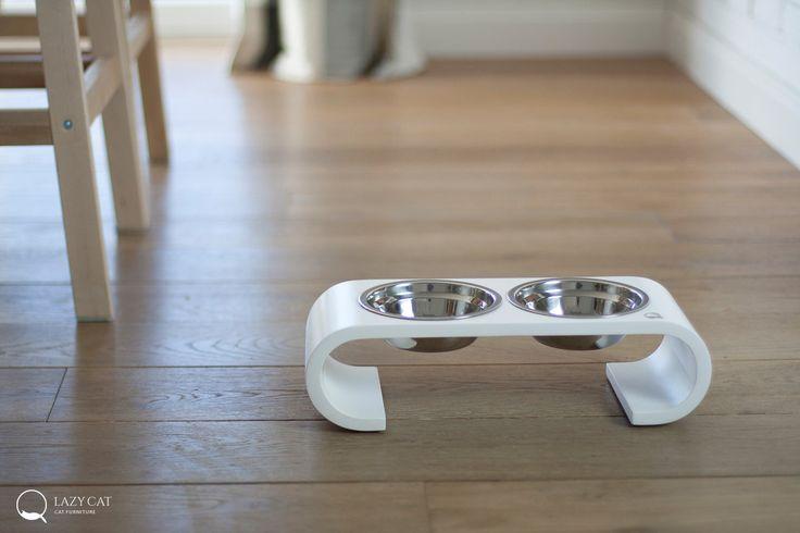 Modern Pet Feeders from LazyCat