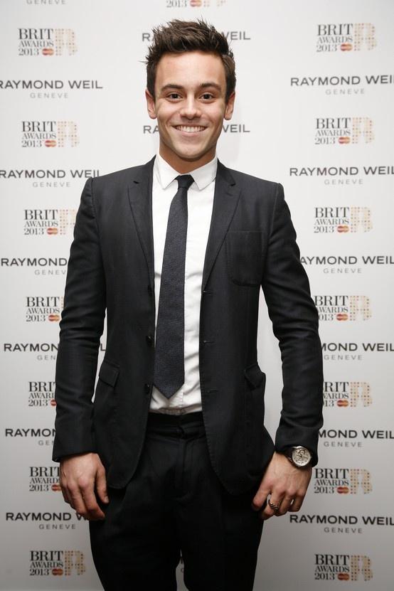 RAYMOND WEIL - BRIT Awards 2013 - Tom Daley #luxurywatch #raymondweil Raymond-Weil. Swiss Luxury Watchmakers watches #horlogerie @calibrelondon