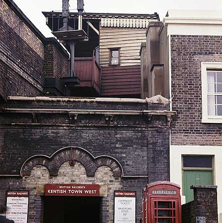 Kentish Town West Station, Prince Of Wales Road,