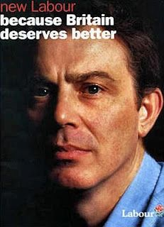 Tony Blair's campaign launch in 1997