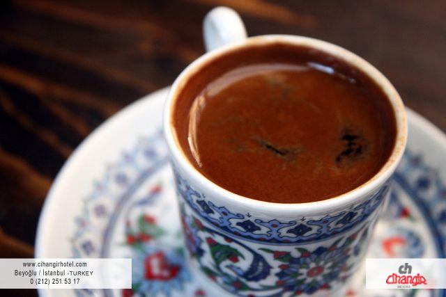 Look delicious, isn't it? Have an enjoyable Turkish Coffee break at Cihangir Hotel...
