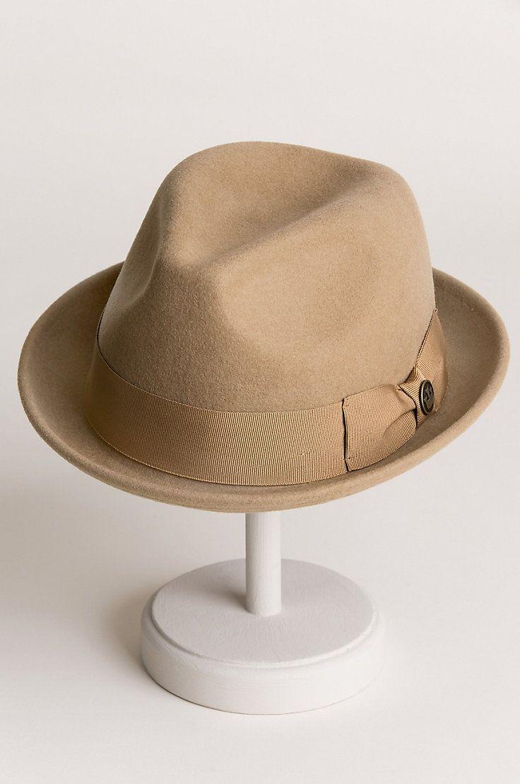8af2fe2d Goorin Bros. Good Boy Wool Felt Fedora Hat in 2019 | clean looks | Hats, Fedora  hat, Wool felt