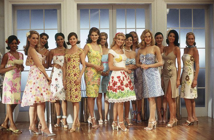 Stepford Wives wardrobe for a stepford wives party/bridal shower