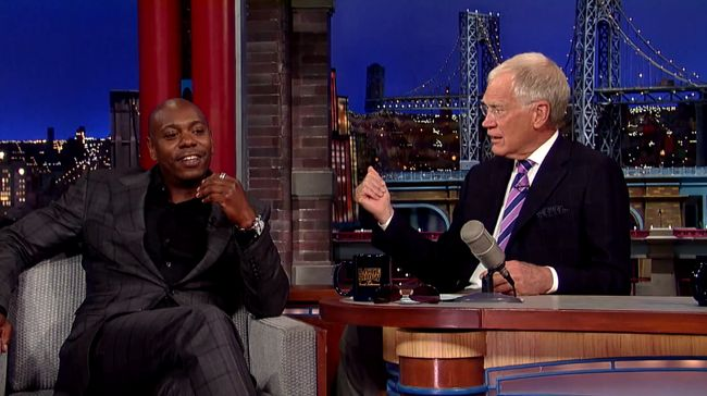 #DaveChappell talks with Dave Letterman about why he stopped his show.
