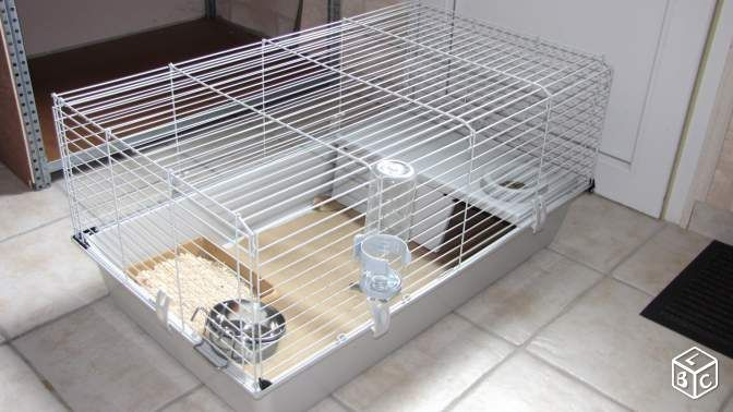 Cage lapins - furets - hamsters - cochons d'inde -