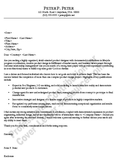 Project Manager Cover Letter. Tips To Write Cover Letter For ...