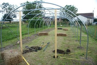 Polytunnel construction from a customeru0027s perspective - Part 4 Doors & 14 best How to Build a Polytunnel images on Pinterest | Building ...