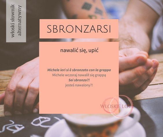 Włoski słownik alternatywny/poniedziałkowe włoskie słówko od Wloskielove: