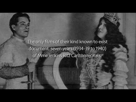 THE REAL FLORENCE FOSTER JENKINS ON FILM - YouTube