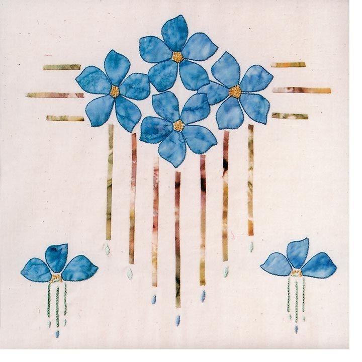 craftsman quilt | Prairie Blossoms | Item #35a