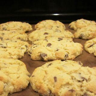 Coconut Flour Chocolate Chip Cookies (S)