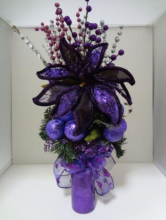Best purple christmas ideas on pinterest