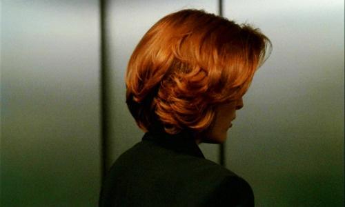 dana scully hair color