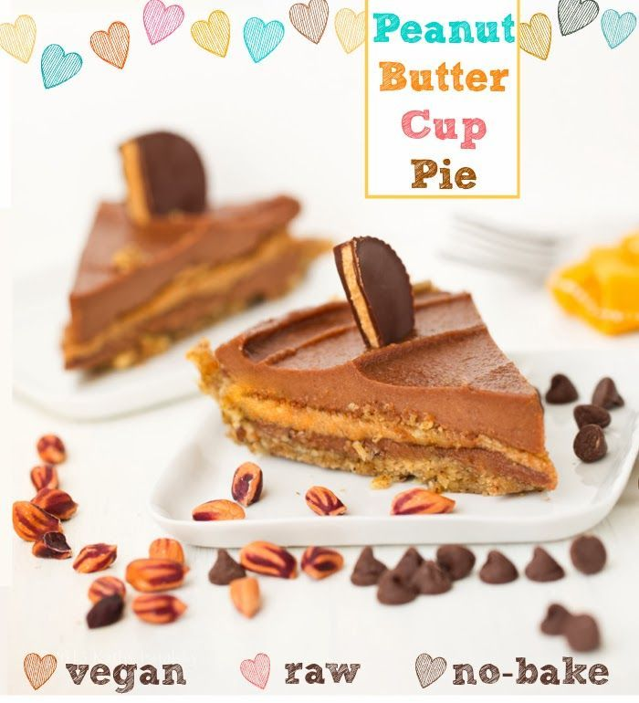 Peanut butter cup raw pie | Carob Recipes (or Chocolate that can be s ...