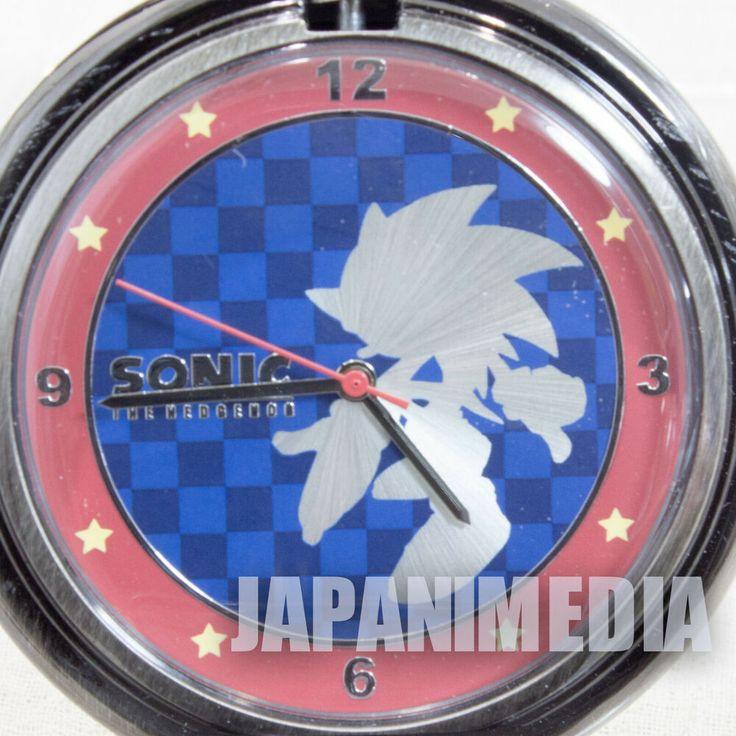 RARE! Sonic The Hedgehog 20th Anniversary Pocket watch 2