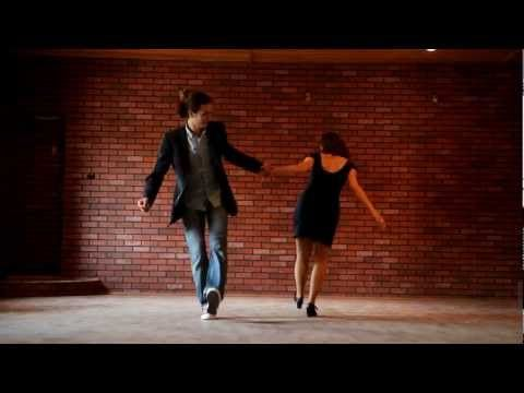 Nice lighting, figure/ground and even rule of thirds in a video  Lindy hop. Линди хоп - YouTube