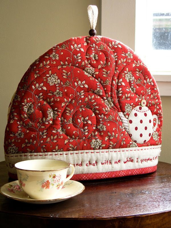 Enjoying ourselves at a local Tea House, my friend mentioned that she needed a tea cozy and was going to buy one from the gift shop. I immed...