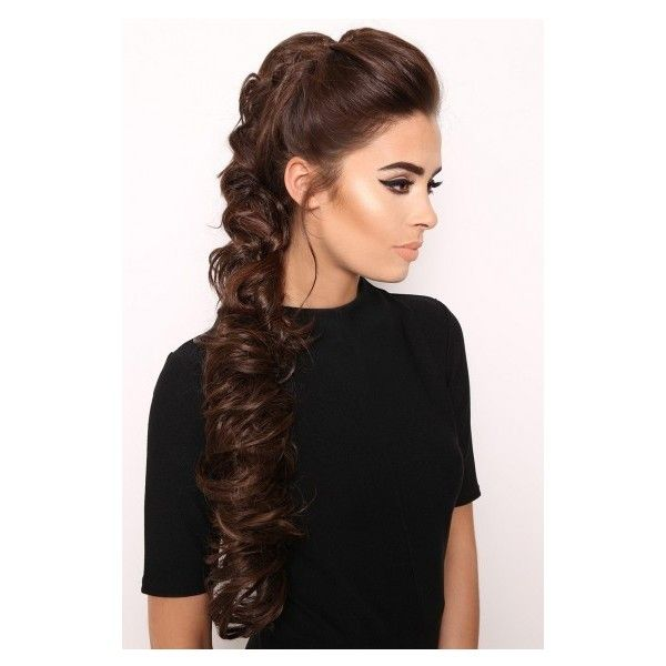 Fringes, Braids and Hair up Clip In Hair Extensions - LullaBellz ❤ liked on Polyvore featuring accessories, hair accessories and hair extension accessories