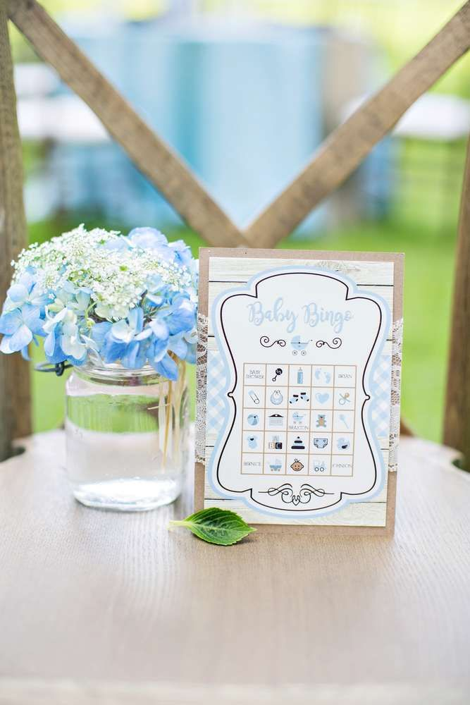 An Outdoor Chic Rustic Intimate Ocassion Baby Shower Party Ideas