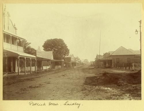 Patrick Street Laidley in the early 1900s