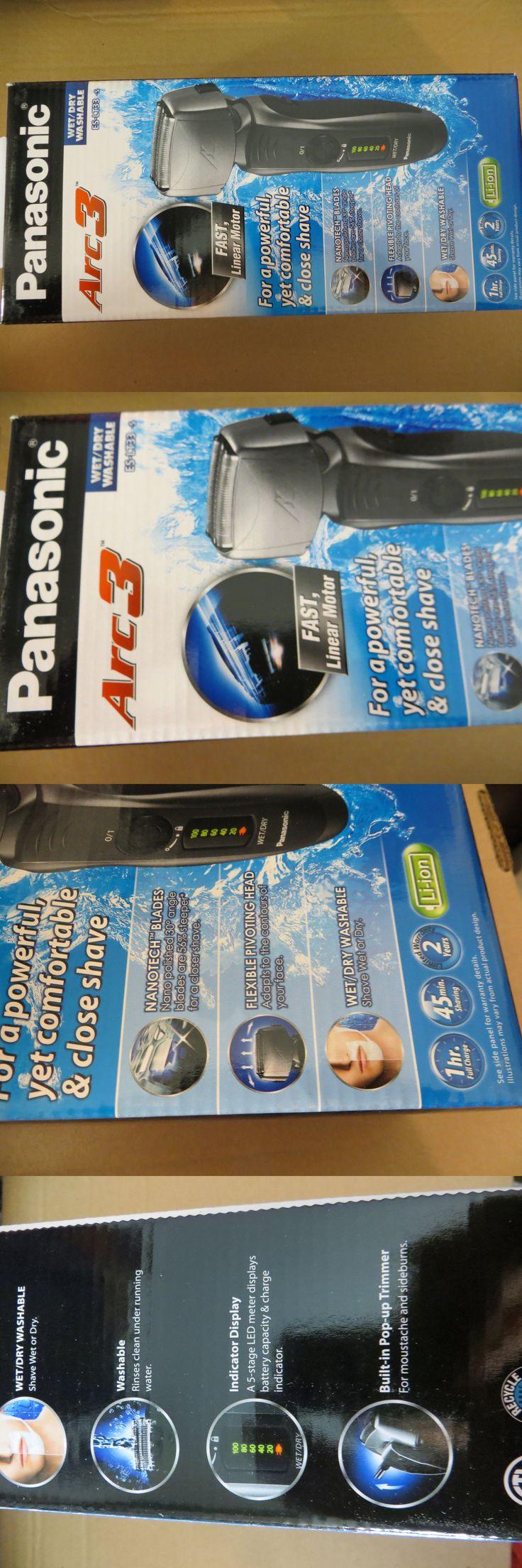 Mens Shavers: Panasonic Es-Lt33-S Arc3 Electric Razor Wet Dry Pivoting Head Linear Cordless BUY IT NOW ONLY: $70.0