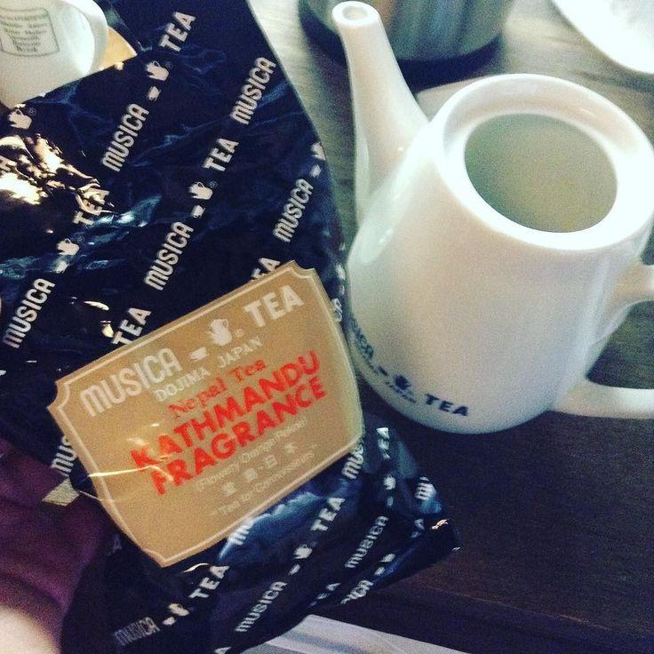 TeaMeeting in 種ノ箱十種類目はムジカティーのネパール紅茶カトマンズフレグランスです