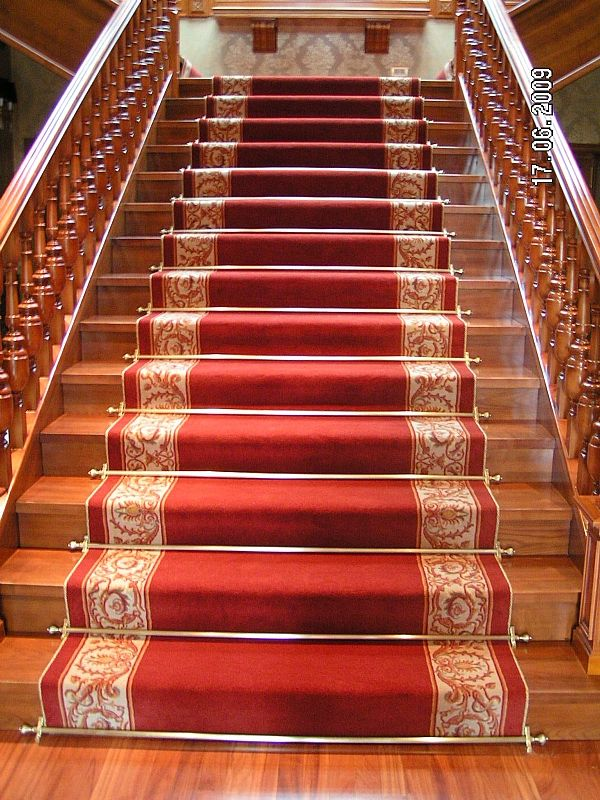 carpet runners and stair rods photo 2