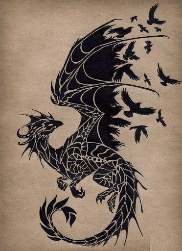50 Amazing Dragon Tattoos sollten Sie auschecken #…