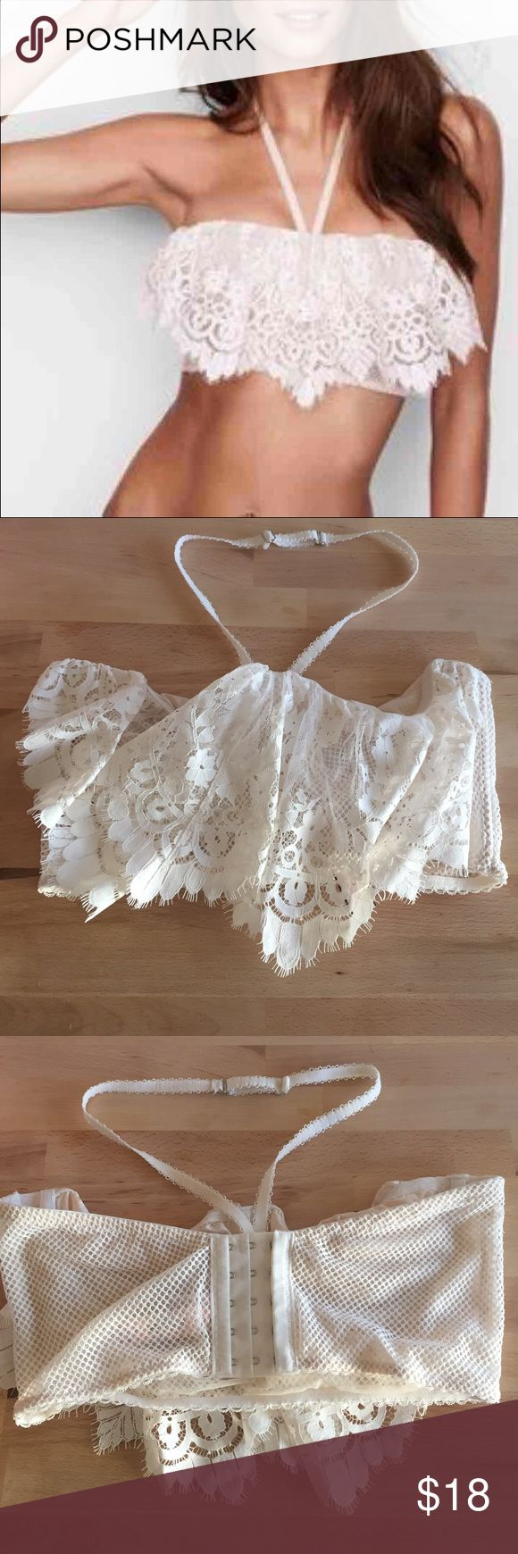New! 36D Victoria's Secret halter unlined bra Brand new! Victoria's Secret halter unlined bra. Size 36D Victoria's Secret Intimates & Sleepwear Bras