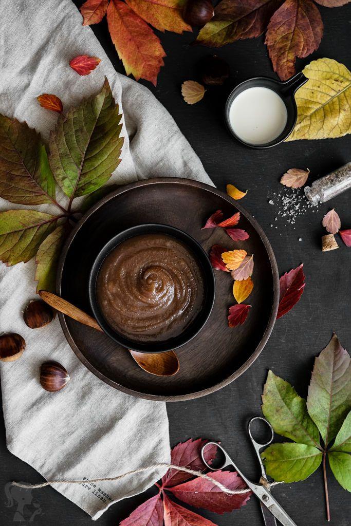 Gaštanové pyré / Chestnut puree spread