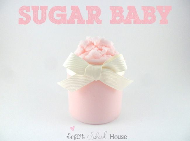 Candy Cane baby is my sixth DIY sugar scrub recipe and the FOURTH sibling in the Sugar Baby family! This is a must-see easy handmade gift!