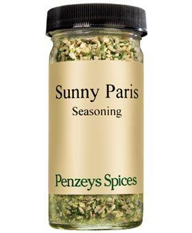 Sunny Paris Seasoning Seasonings Penzeys Spices Salt Free Seasoning
