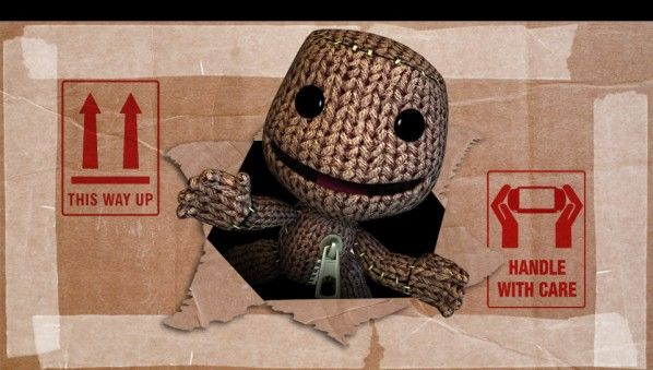 Sackboy Handle with care PS Vita Wallpaper