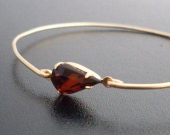 Filigrana d'oro bracciale gioielli in filigrana di FrostedWillow