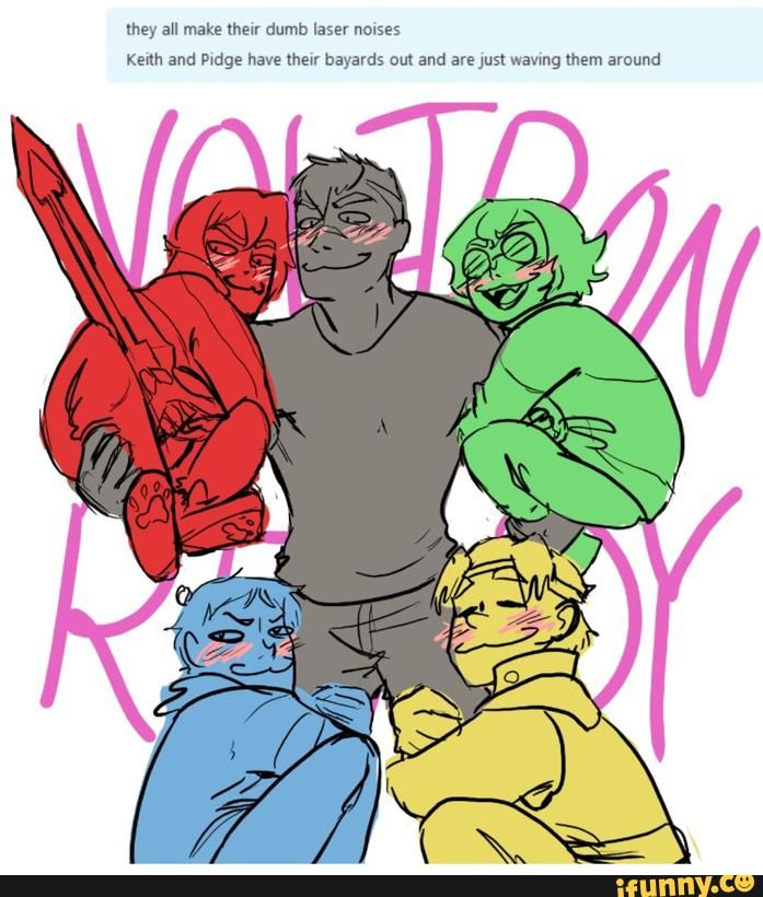 VOLTRON - iFunny :)