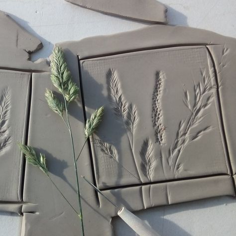 Meadow botanical tiles in the making!!
