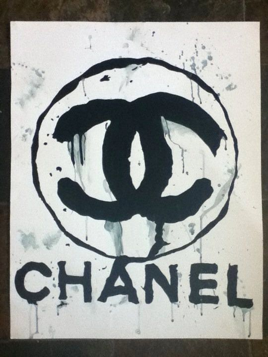 chanel watercolor