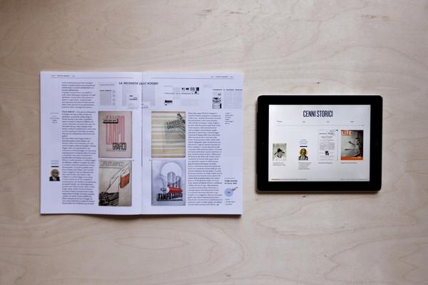 Magazine,history and evolution, Red Mag. by Michelangelo Melandri , via Behance