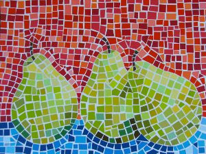 Paint Chip Mosaic Art | FaveCrafts.com