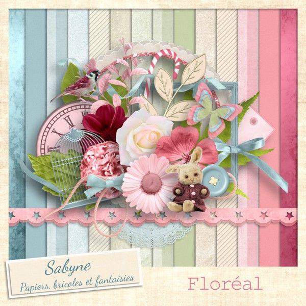 """Kit """"Floréal"""" Sabyne"""